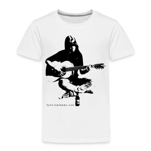 Cynthia Janes guitar BLACK - Kids' Premium T-Shirt