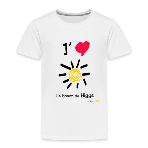 I love le boson de Higgs - T-shirt Premium Enfant