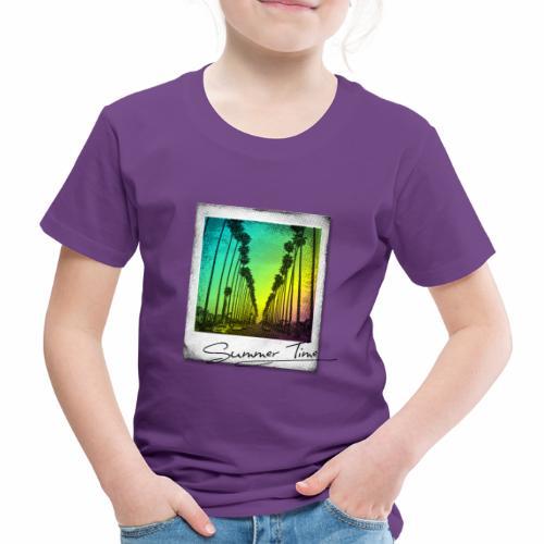 Summer Time - Kids' Premium T-Shirt