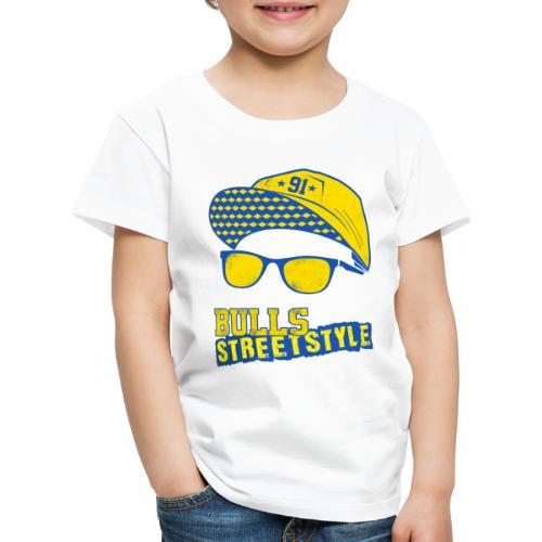 Bulls Streetstyle Yellow - Kinder Premium T-Shirt