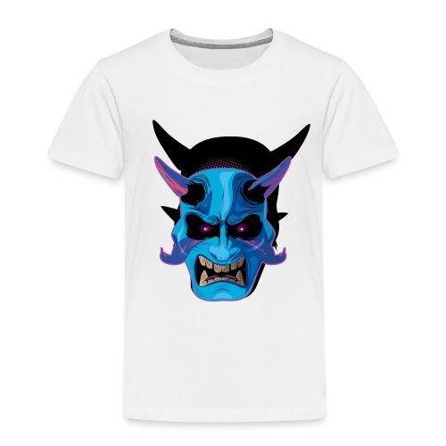 mask oni japones - Camiseta premium niño