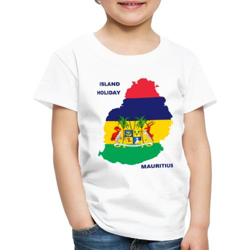 Mauritius Island Holiday - Kinder Premium T-Shirt