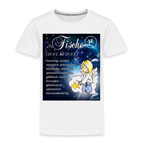 Schutzengel-Sternzeichen-Tasse Fische - Kinder Premium T-Shirt