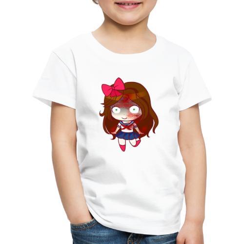 MiniKiria School Yandere - Maglietta Premium per bambini