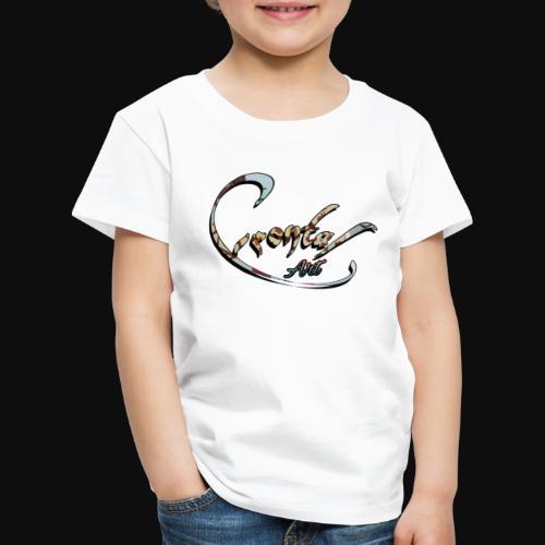 ƒяσηтαℓ αят (graff ) - Kinder Premium T-Shirt