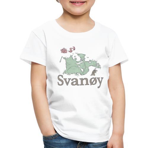 Svanøy - Premium T-skjorte for barn