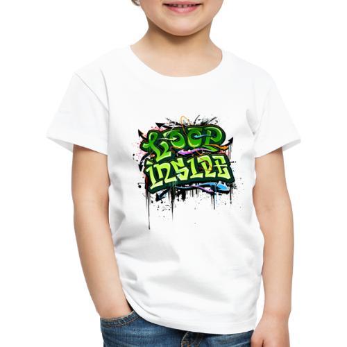 Loop INSIDE 😎 - Kinder Premium T-Shirt