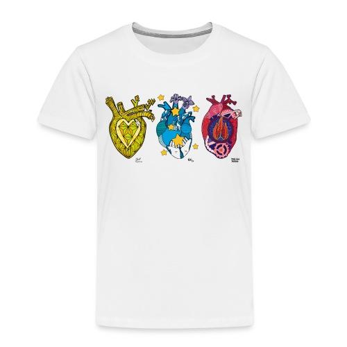 Corazones Prestados - Camiseta premium niño