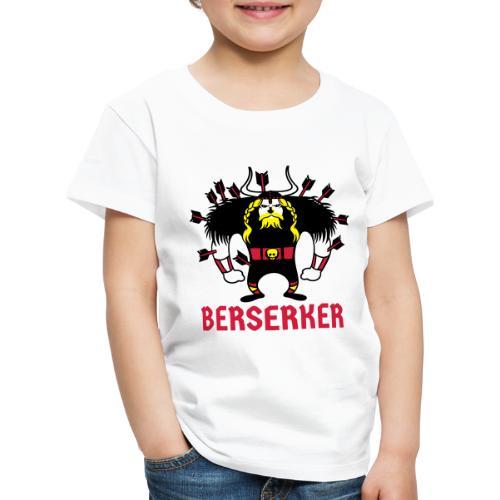 Berserker | Guerrero Nórdico | Vikingos - Camiseta premium niño