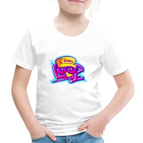 Graffiti I AM LOOP - Kinder Premium T-Shirt