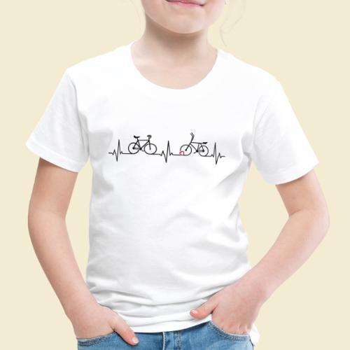 Heart Monitor Kunstrad & Radball - Kinder Premium T-Shirt