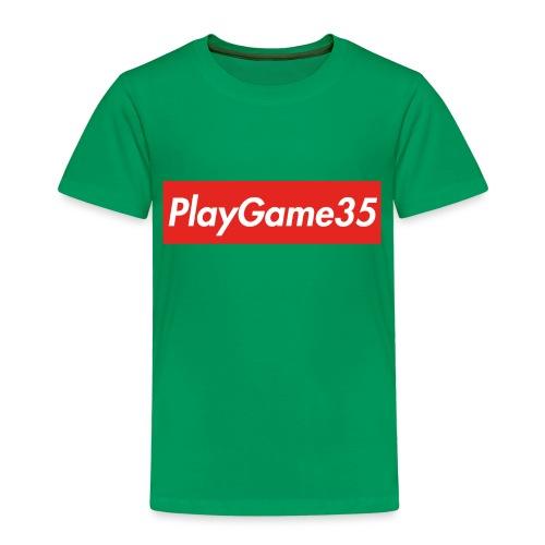 PlayGame35 - Maglietta Premium per bambini