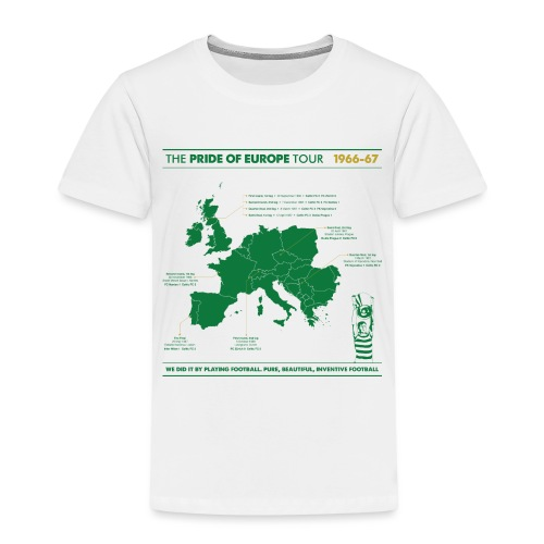 Pride of Europe - Kids' Premium T-Shirt