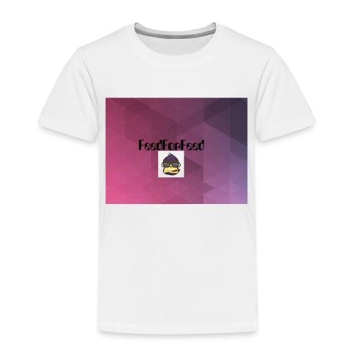 FeedForFeed! logo - Premium T-skjorte for barn