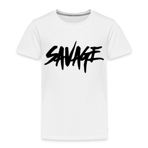 BALDER SAVAGE!!! - Premium T-skjorte for barn