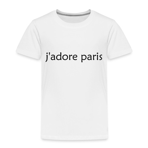 'I Love Paris' French - Kids' Premium T-Shirt