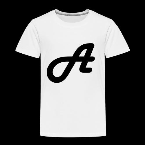 Ein Logo Swarz Weiss - Kinder Premium T-Shirt