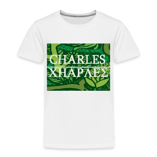 CHARLES CHARLES JUNGLE PRINT - LIMITED EDITION - Kids' Premium T-Shirt