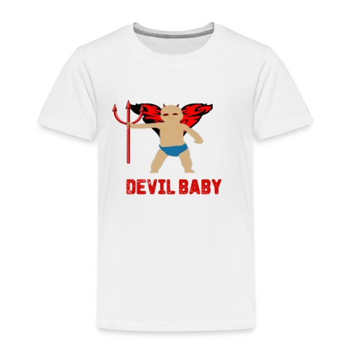 DEVIL BABY png - Kids' Premium T-Shirt