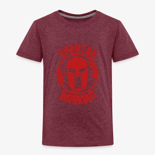Spartan Workout - Kids' Premium T-Shirt