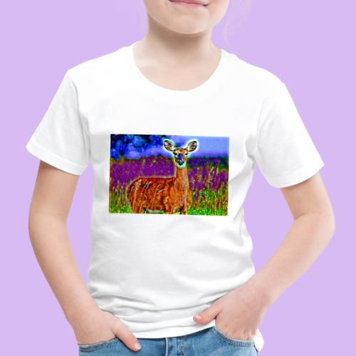Cerbiatto con magici effetti - Maglietta Premium per bambini