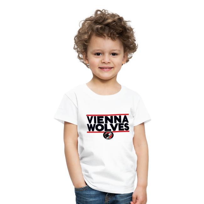 Vienna Wolves Shirt Dunkel-Rot