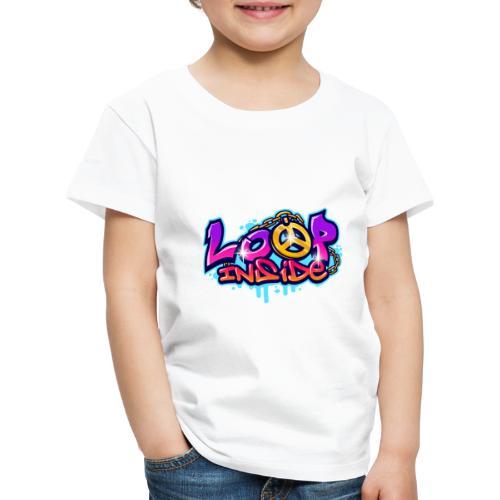 Loop Inside 3 - Kinder Premium T-Shirt