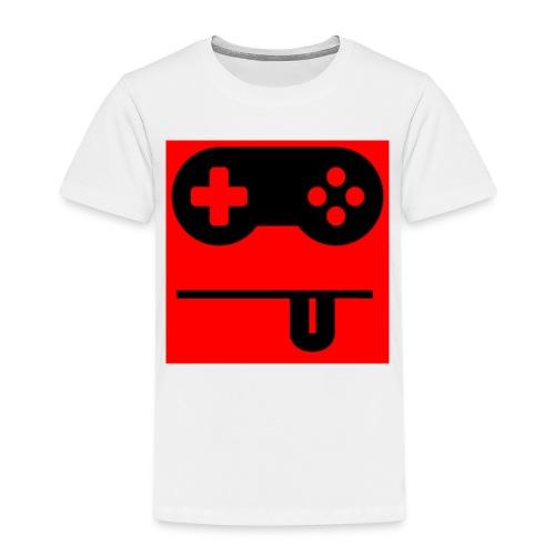 Logo Noobzocker - Kinder Premium T-Shirt