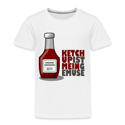 Ketchup ist mein Gemüse (Grillshirt) - Kinder Premium T-Shirt