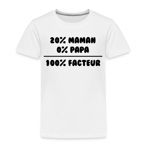 100% facteur - T-shirt Premium Enfant