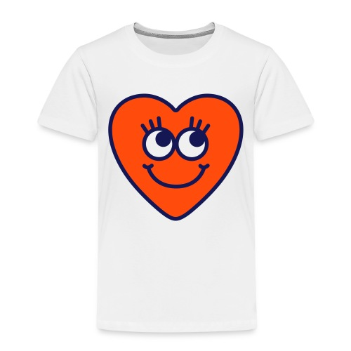 love hart - Kinderen Premium T-shirt