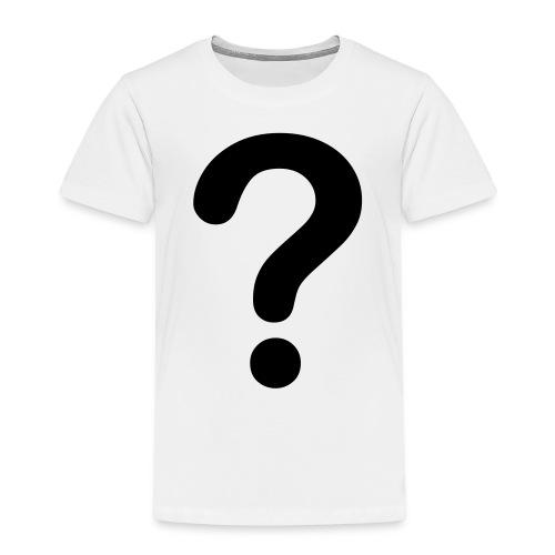 Question Mark - Kids' Premium T-Shirt
