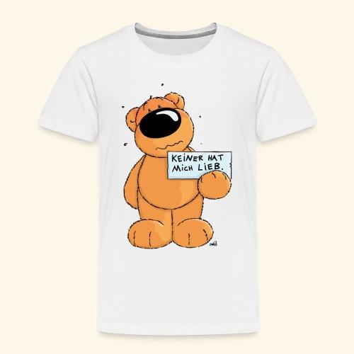 chris bears Keiner hat mich lieb - Kinder Premium T-Shirt