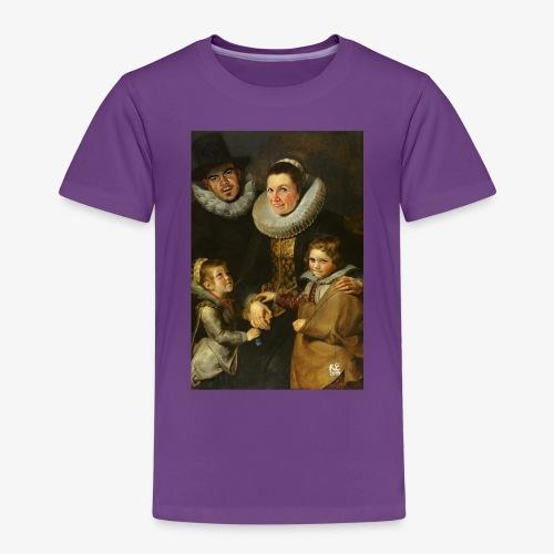 familie-engels2-canvas - Kinderen Premium T-shirt