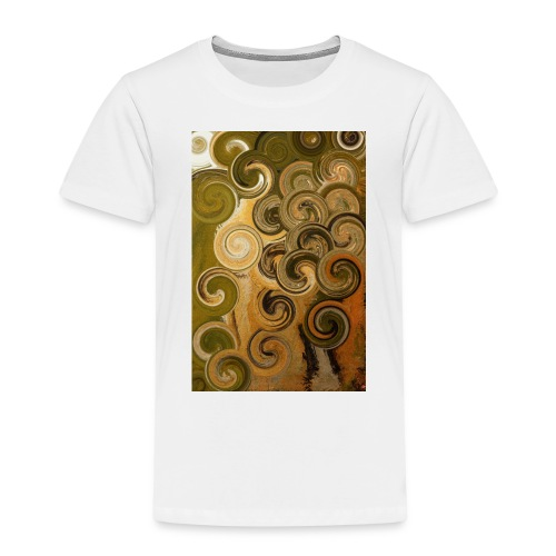 digital Acryl Artwork - Kinder Premium T-Shirt