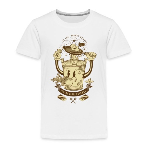 MR Rocket Stove (sepia) - Kids' Premium T-Shirt