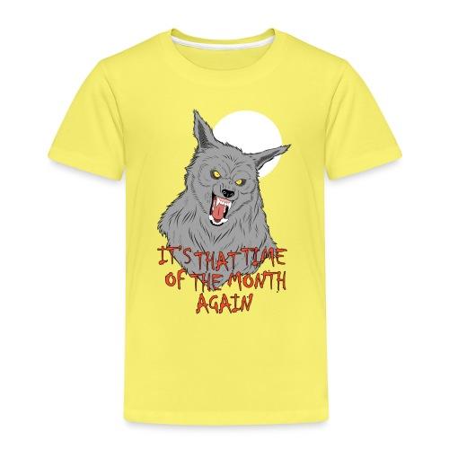That Time of the Month - Koszulka dziecięca Premium
