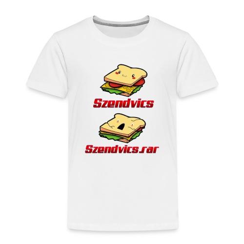 Szendvics - Kids' Premium T-Shirt