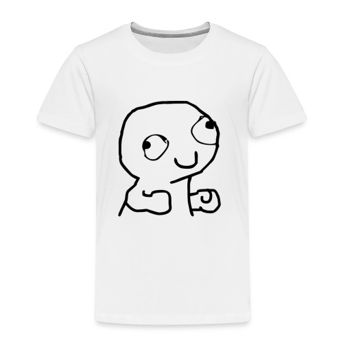 Derpy Trollface - Kids' Premium T-Shirt