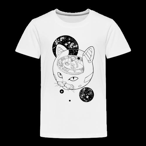 Kosmiczny Kot Imperator - Koszulka dziecięca Premium