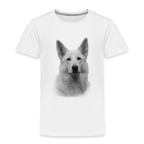 Valkoinenpaimenkoira - Lasten premium t-paita