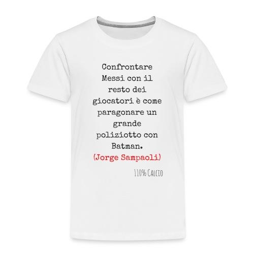 maglia 110 messi png - Maglietta Premium per bambini
