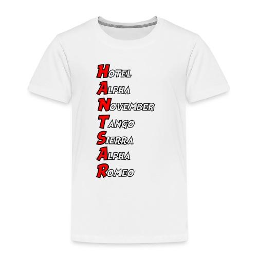 HANTSAR - Phonetic - Kids' Premium T-Shirt