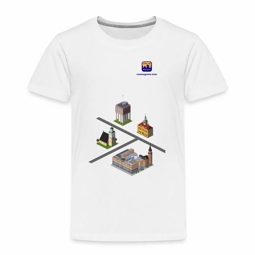 Raumagame mix for white / bale bg - Kids' Premium T-Shirt