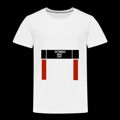 """""""DNZ"""" 777 x 3STRIKES - Premium-T-shirt barn"""