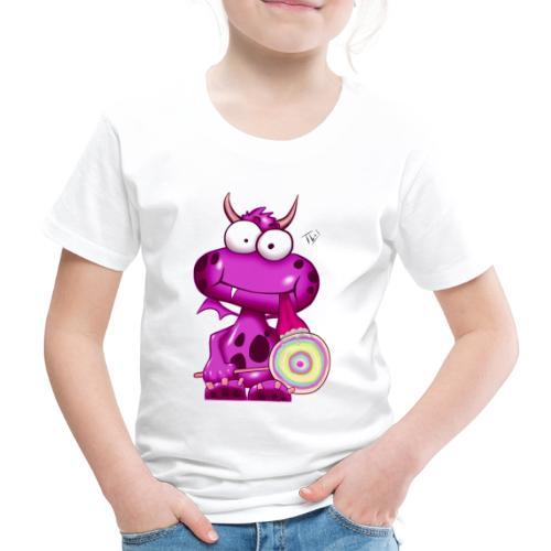 Lolli Olli Monsta - Kinder Premium T-Shirt