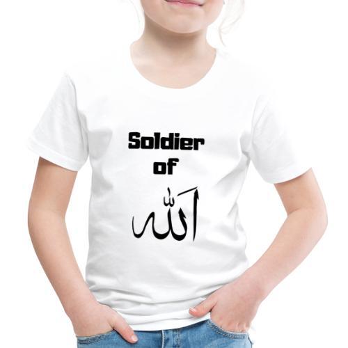 soldier of Allah - Kids' Premium T-Shirt