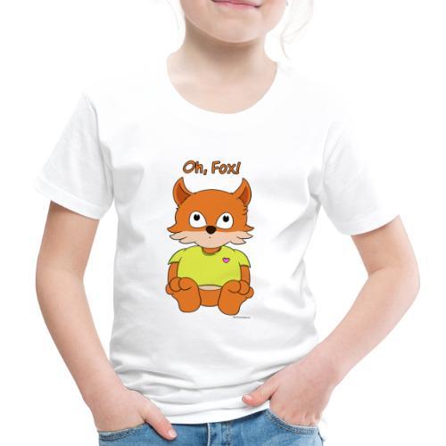 Oh, Fox! Cute women's T-shirt - Kids' Premium T-Shirt
