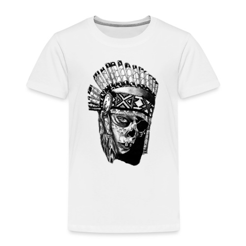 Indian Skull - Kids' Premium T-Shirt