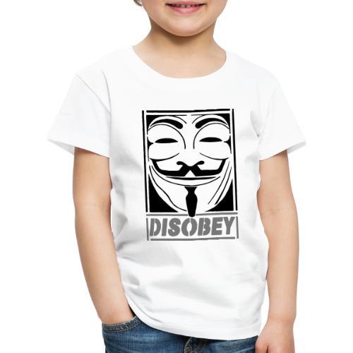 disobey - Børne premium T-shirt
